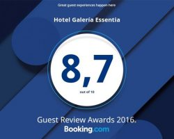 Hotel Restaurante Essentia - Puntuación Booking Enero 2017