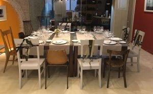 Restaurante del Hotel Restaurante Essentia, en Aracena (Huelva), España.