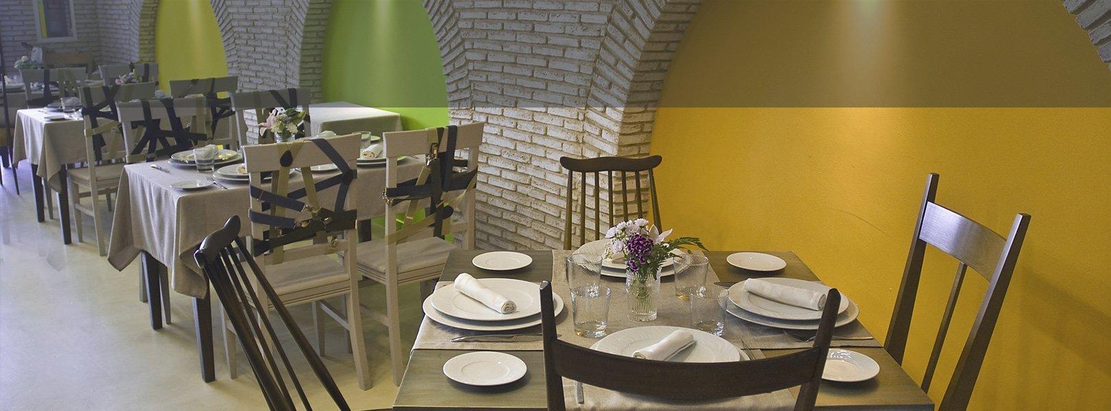 Restaurante Hotel Essentia en Aracena, Huelva, España.