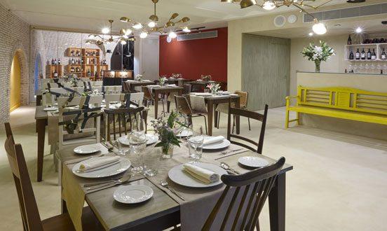 Restaurante Essentia en Aracena (Huelva).