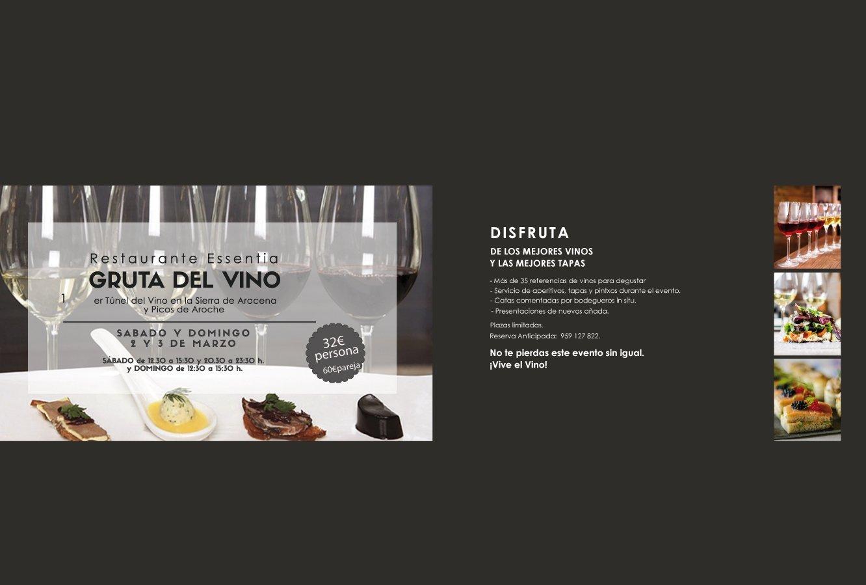 Primer Túnel del Vino 2019 - Restaurante Essentia Aracena.