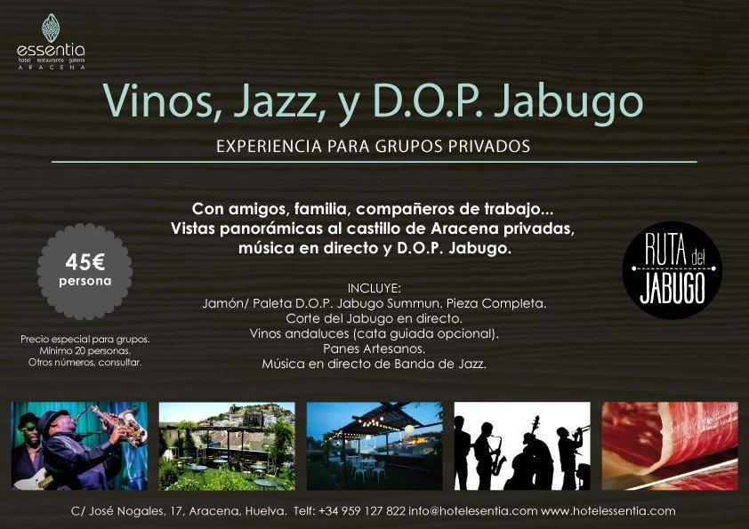 Vinos, Jazz y DOP Jabugo.