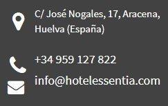 Hotel Essentia en Aracena