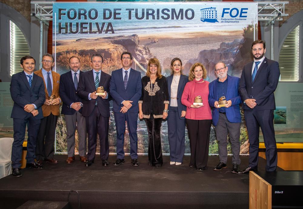 Premio al emprendimiento Hotel Essentia , Foro de Turismo de Huelva